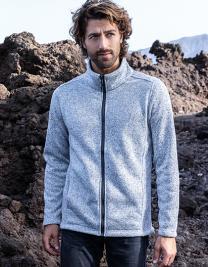 Men`s Knit Fleece Jacket C+